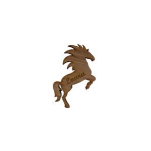 bordkort med hest